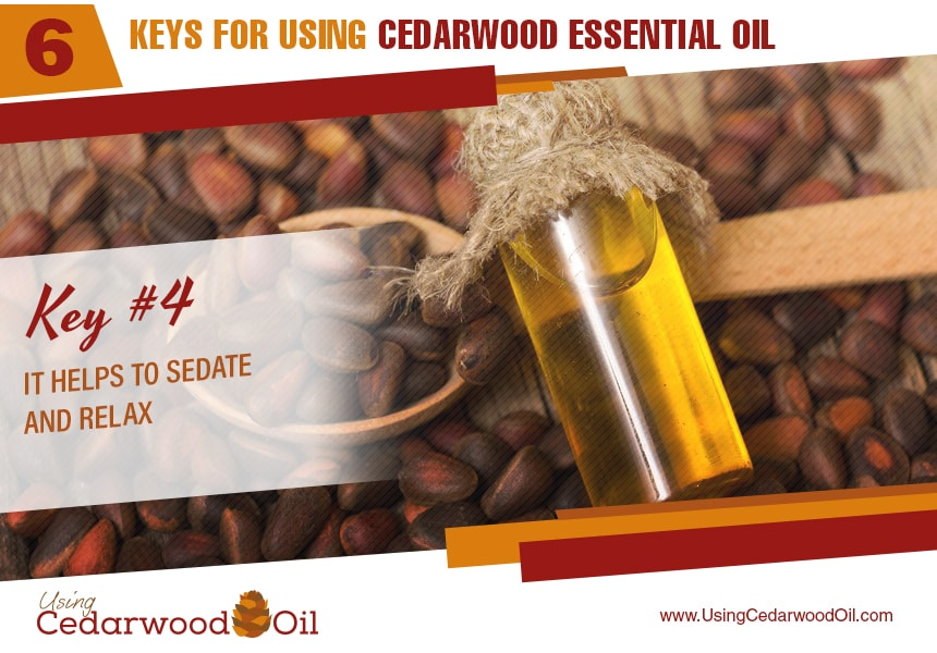 what is cedarwood essential oil used for